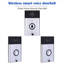 Interphone vocal sans fil, avec moniteur bidirectionnel, sonnette de sécurité pour maison connectée