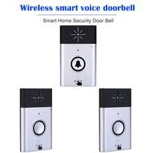 Wireless Voice Intercom Doorbell 2 way Talk Monitor Smart Home Security Door Bell