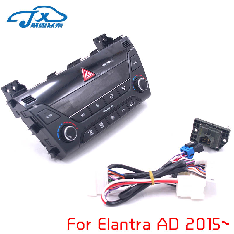 US $226 1 5% OFF|JXZT For Elantra AD 2017 Heater Control AC/ switch  automatic air conditioning auto/ manual air conditioning control panel-in
