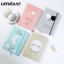 Umitive 1pcs 96 Sheets Cute Notebook Diary Planner Notepad To Do List Office And School Supplies Stationery For Kids Gift