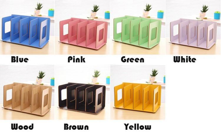 Aliexpresscom Buy DIY Wood Board Storage Box Desk Decor