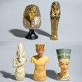 Экшн-фигурка древнего египетского фараона, Tutankhamun египетская Клеопатра, модель принцессы, бюст, кукла, домашние украшения