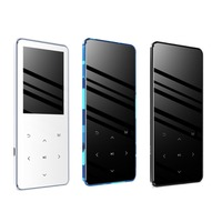 MP4 Player With Bluetooth Lecteur Mp3 Mp4 Music Player Portable Mp4 Media Slim 2.4 inch Touch Keys Fm Radio Video Hifi