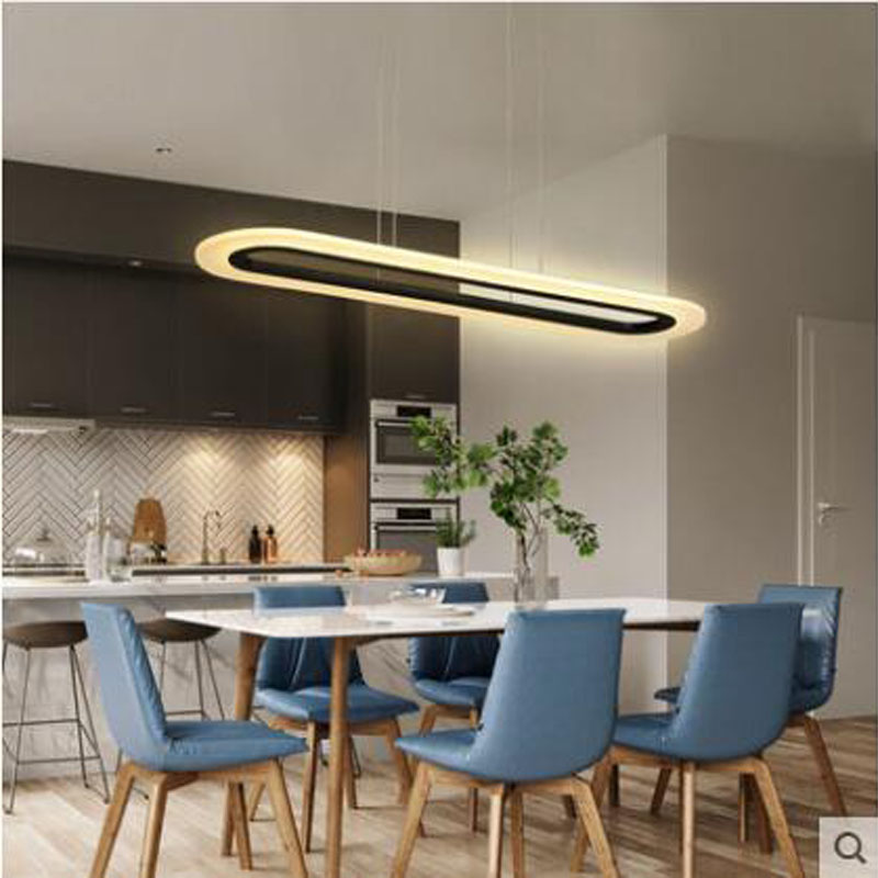 Small Living Room And Dining Room: L Led Restaurant Chandelier Dining Room Dining Table Bar