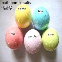 10 جرام المتفجرات للحمام قنبلة الكرة انفجار الملح حمام القنابل fizzer الجسم النظيف اليدوية هدية M2041