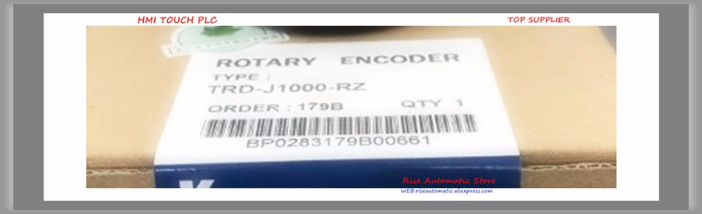 Compact generic incremental rotary encoder TRD-J1000-RZ external diameter of 50mm TRD-J series 1year warranty