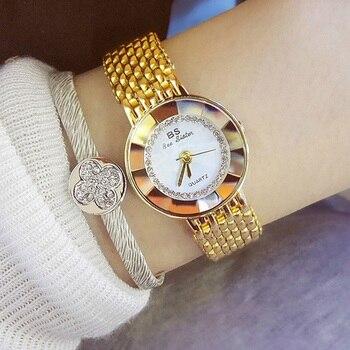 Bayan Kol Saati Women Watches 2019 Hot Sale Ladies Watch Luxury Brand Diamond Watch Fashion Quartz Watch Female Wrsitwatch Saat