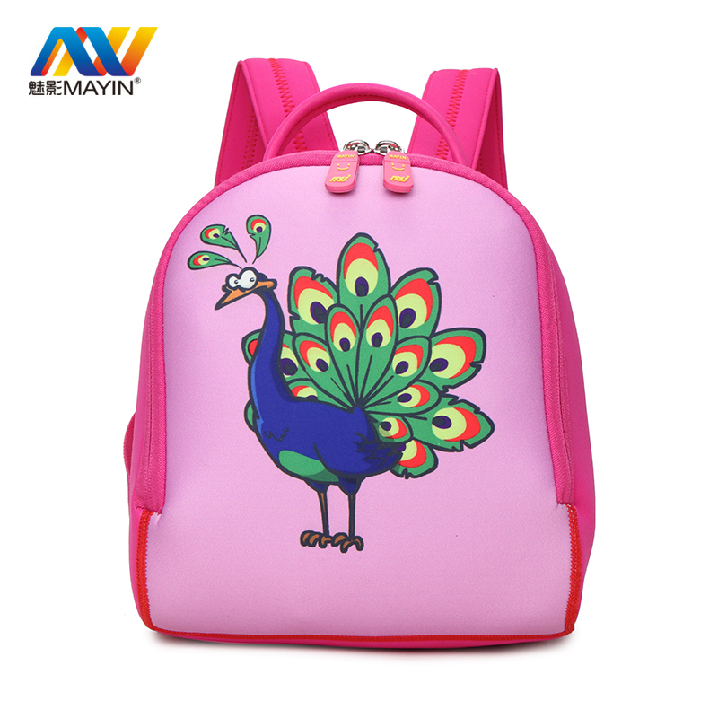 MAYIN 3D Cartoon Animal Kindergarten <font><b>Backpacks</b></font> Waterproof Toddler Kids <font><b>Backpacks</b></font> for Baby Girl and Boy Child School Bag Horse