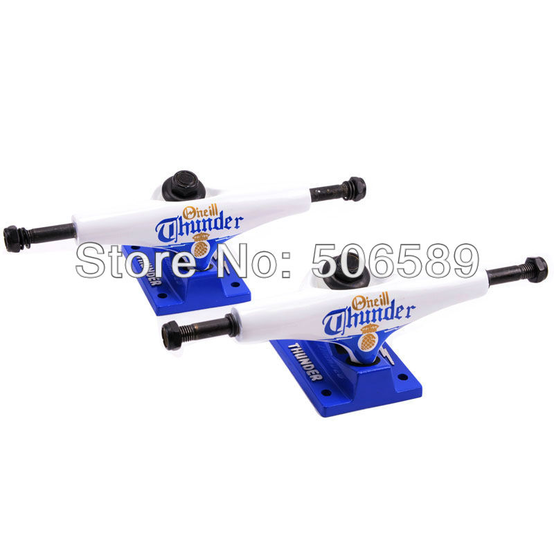 Фотография free shipping skateboard truck 5.0 inch white color skateboard parts