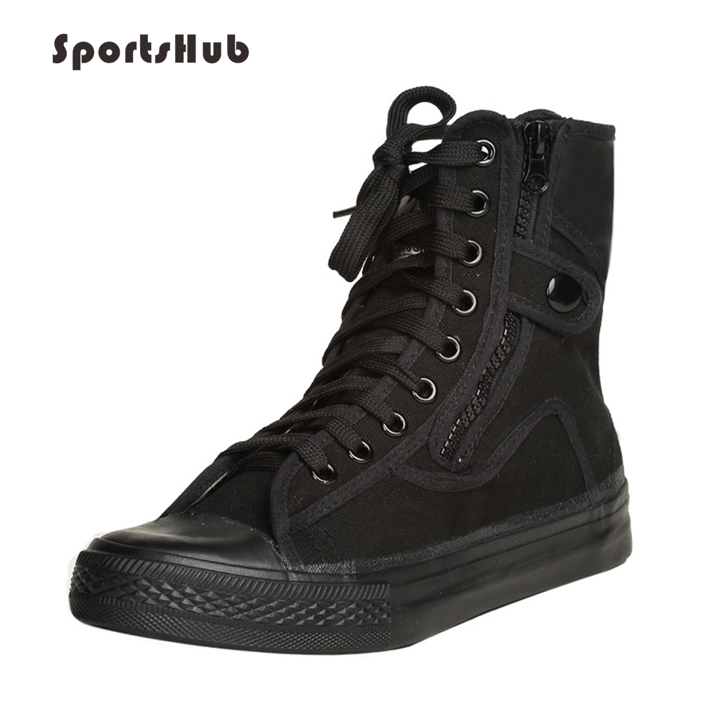 SPORTSHUB Anti-Slip Men's Fitness Shoes Outdoor Sports Classic Men's Sneakers Rubber Soles Military Training Shoes S0006