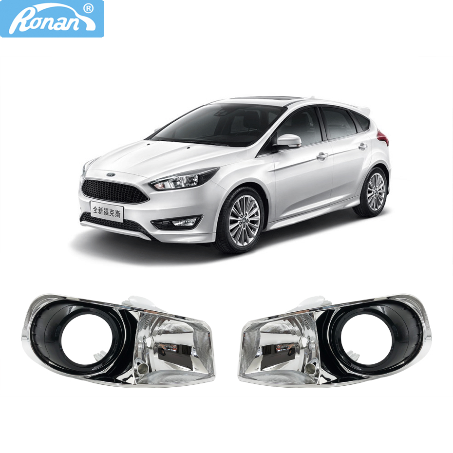 Ronan 3 0 inch for Ford focus 2015 ST HeadLight Retrofit Front Lamps Install HID Projector