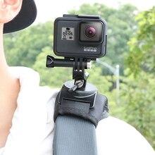 RUIGPRO plecak zacisk uchwyt do montażu na 360 obrót dla Gopro DJI Osmo działania SJCAM EKEN kamery sportowe