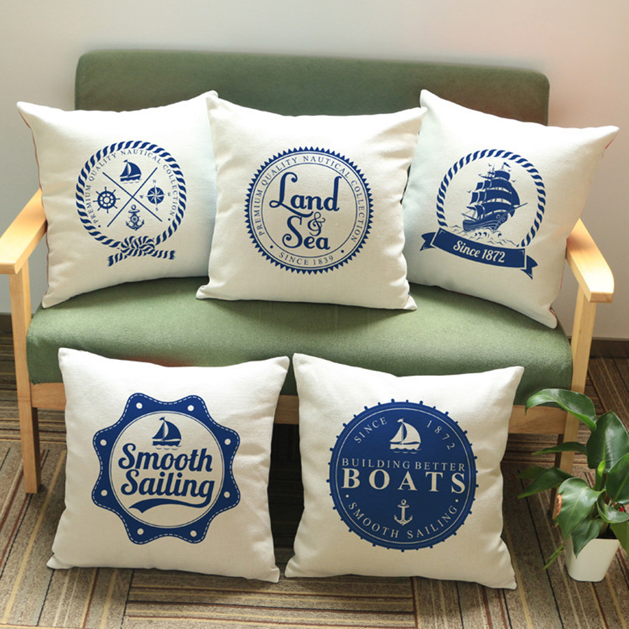 Online Buy Wholesale sailboat throw pillows from China sailboat ...