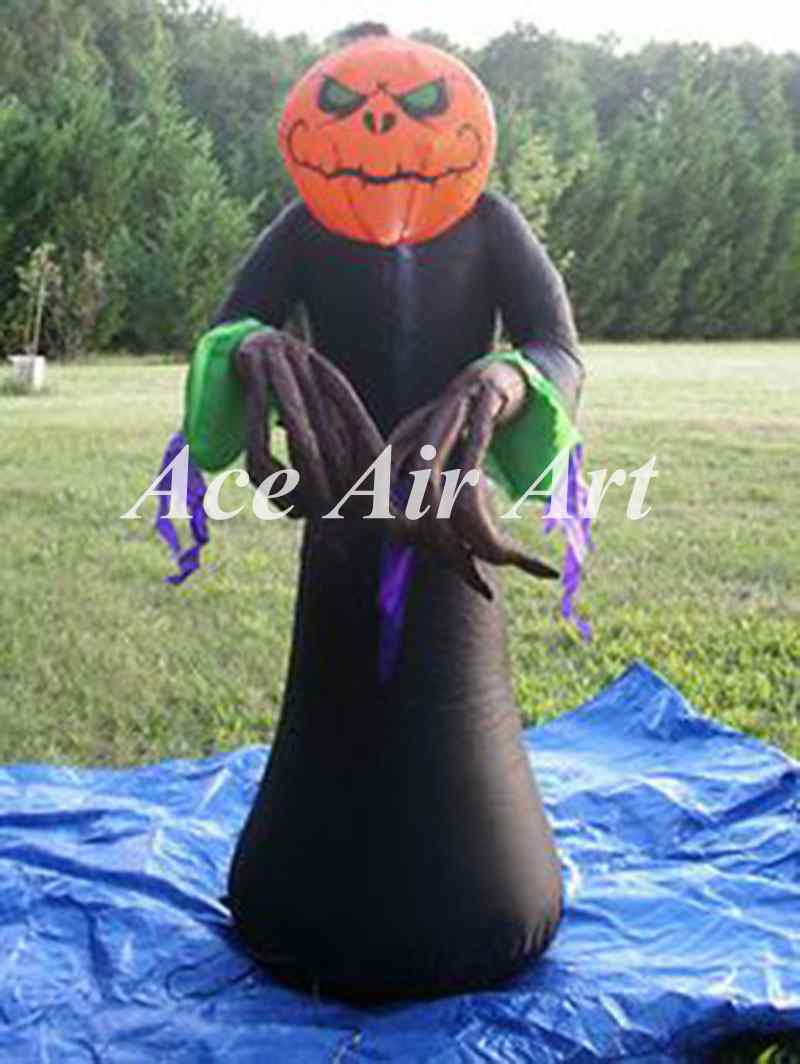 Compare Prices on Halloween Inflatable Pumpkin- Online Shopping ...