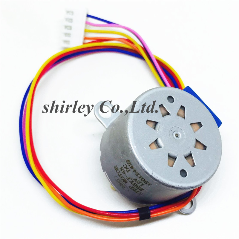50PCS 28BYJ 48 Stepper Motor DC 12V PIC MCU 4 Phase Valve Reduction Gear Ratio Step