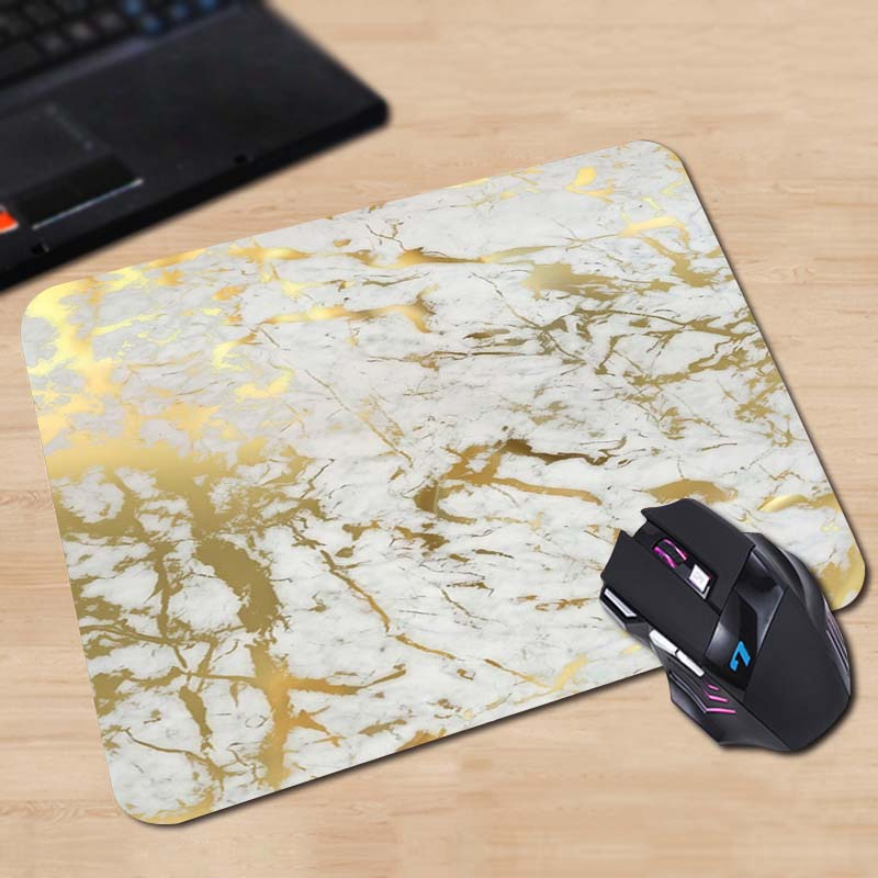 Gold Mouse Pad