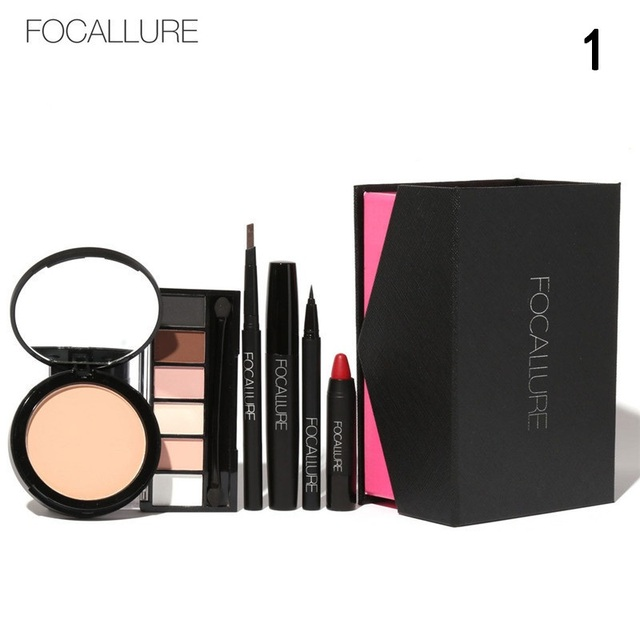 FOCALLURE All In One Makeup Kit (Eyeshadow, Powder, Lipstick ,eyebrown &More) Holiday Exclusive