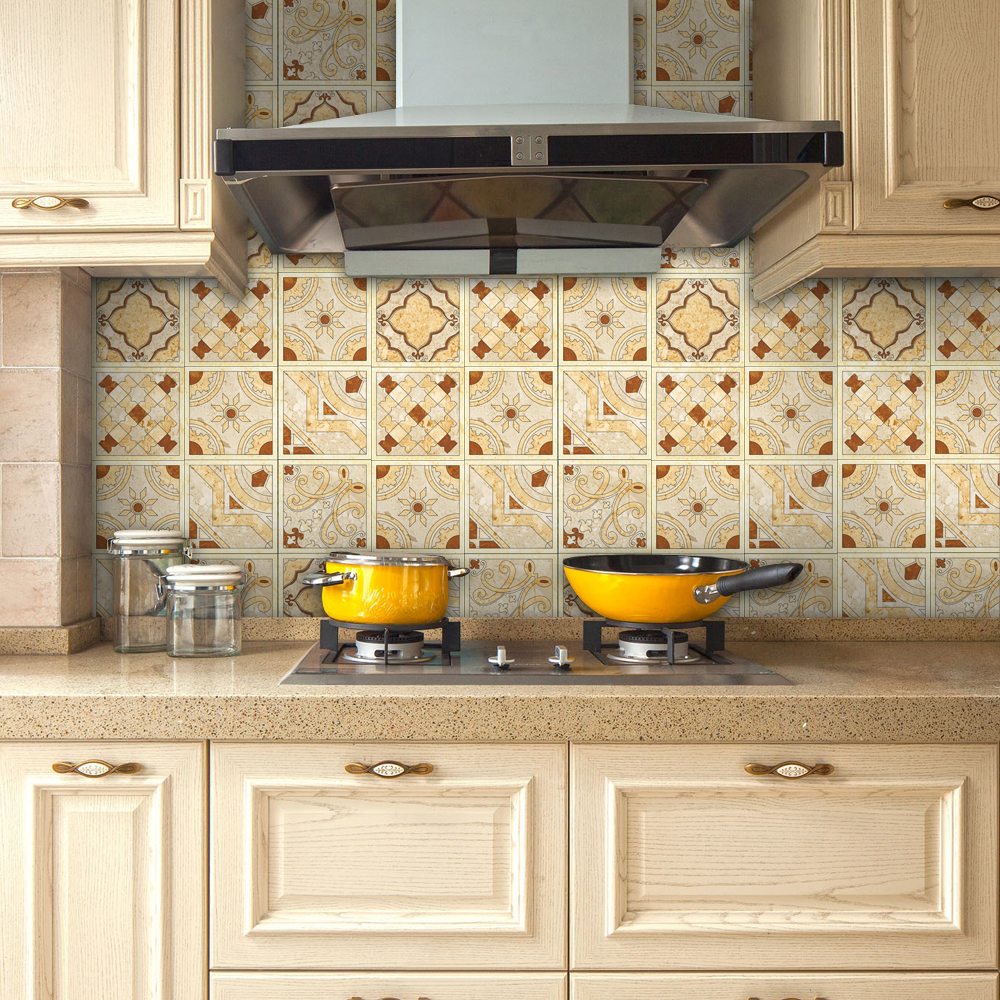 peel and stick kitchen backsplash yanqiao peel and stick tiles sticker kitchen backsplash 25426