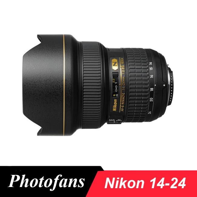 Nikon 14-24 Wide Angle Lenses AF-S NIKKOR 14-24mm F/2.8G ED Lens