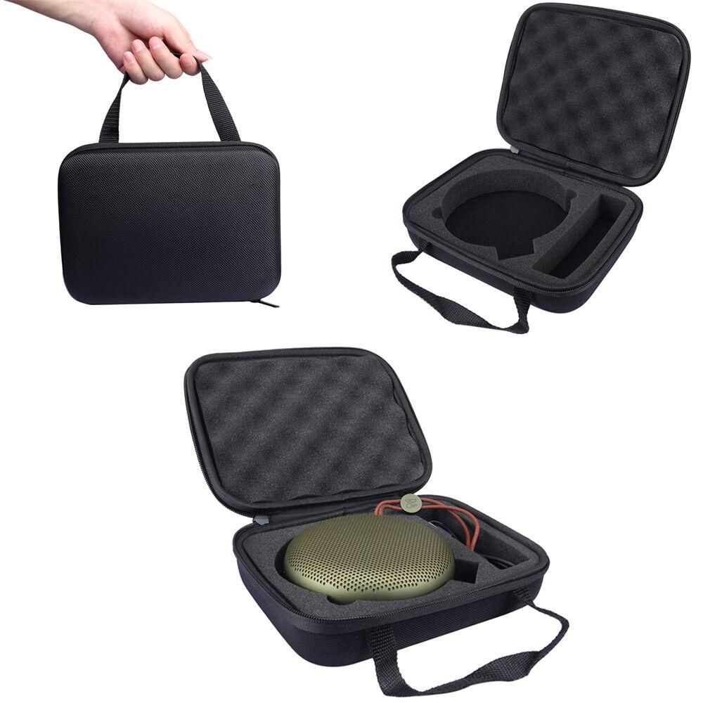 imágenes para 2016 Soft Carry Case Bolsa de Viaje de Almacenamiento Para B & O JUGAR A1 Portátil Inalámbrico Bluetooth Altavoz, Cabe Potencia Adaptoer y Cable USB