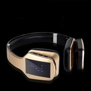 Image 2 - Bezprzewodowe słuchawki Stereo Bluetooth S650 zestaw słuchawkowy z mikrofonem Bluetooth wsparcie redukcja szumów Radio FM karty TF