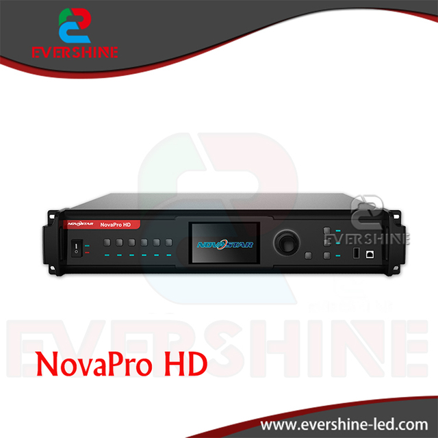 High Quality NovaPro HD LED Rental Screen Video Processor Data Interface with DP/HDMI/VGA/DVI/CVBS/SDI