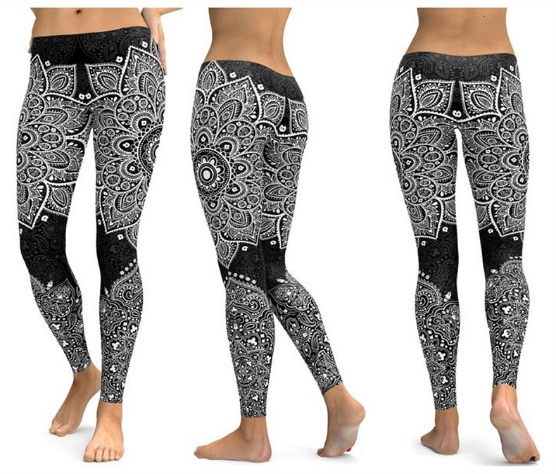 Yoga pants Women's leggings(14)