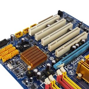 Image 5 - Gigabyte GA P43 ES3G REV 1.0 Desktop Motherboard P43 ES3G P43 Socket LGA 775 For Core 2 DDR2 16G ATX Original Used Mainboard