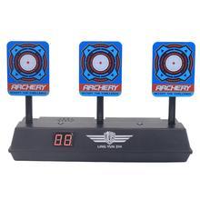 Scoren Auto Reset Demontabel Elektrische Schieten Doel voor Nerf Blaster Gel Kralen Blaster Paintball Accessoires
