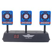Scoring Auto Reset Demountable Electric Shooting Target for Nerf Blaster Gel Beads Paintball Accessories