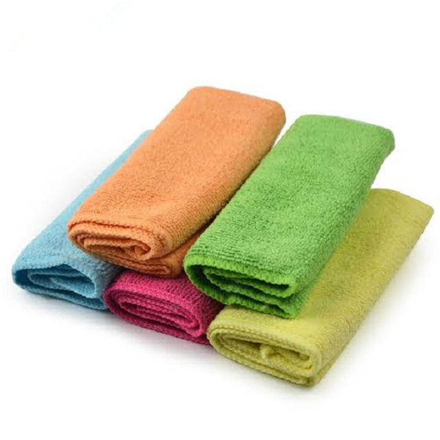 Whole Autocare 5pcs 30 30cm Microfiber Cleaning Cloth Kitchen Towels Magic Household Gles Car Clean