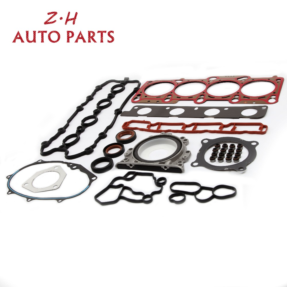 цена на NEW Multilayer Steel Engine Cylinder Head Valve Cover Gaskets Seals Kit For Audi A4 A6 TT Volkswagen Passat Golf 2.0TSI BPY