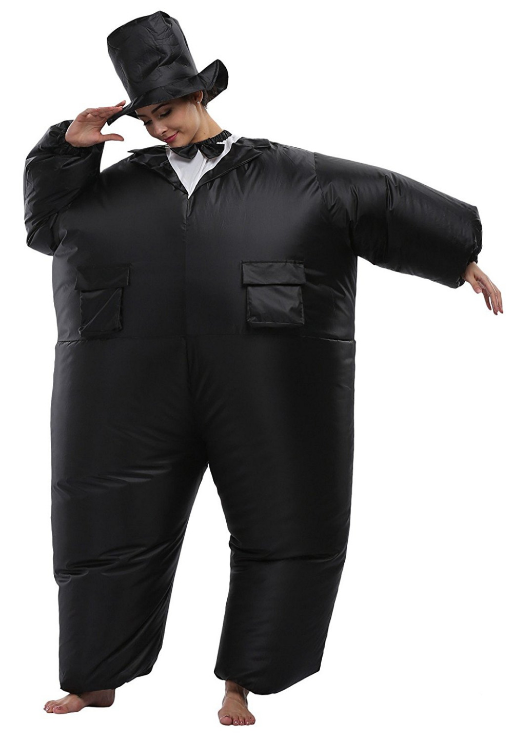 Funny Wedding suit groom inflatable clothing scene spoof and ...
