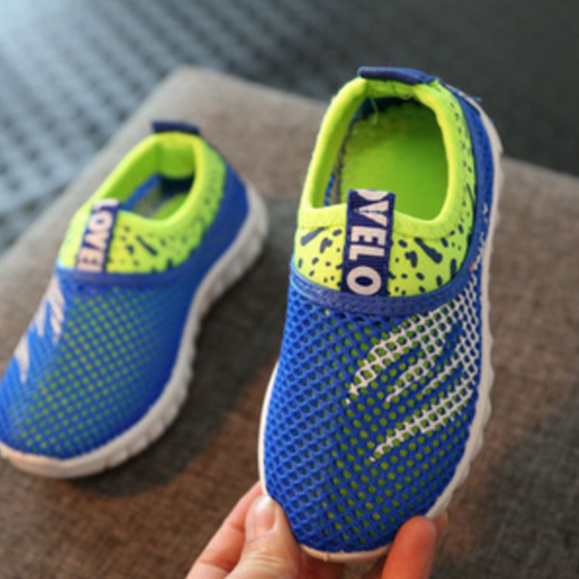 2018 Summer Mesh Casual Sneakers For Girls Sports Running School Children Casual Shoes For Boys Girls Sapato Menino Kids Trainer