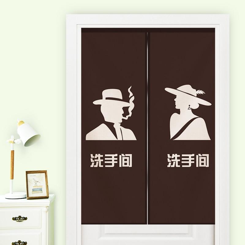 Япония стиль хлопка японский дверь занавес окна украшения висит комната отдыха Санузел туалеты