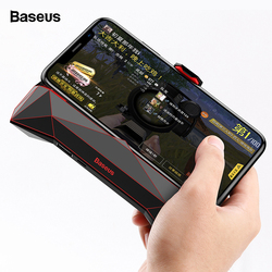 Baseus Game Phone Holder Para o iphone XS MAX X Samsung S10 S9 Cooler Dissipador de Calor de Refrigeração Controlador Do Jogo Do Telefone Móvel lidar Titular