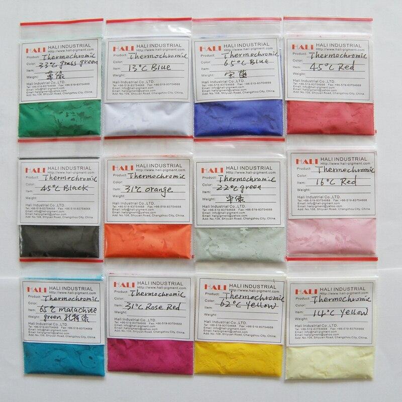 Temperatur Empfindliche Pulver Für Nagel Kunst Unterscheidungskraft FüR Seine Traditionellen Eigenschaften Thermochromen Pigment Thermochromen Pulver Wärme Empfindliche Pigment