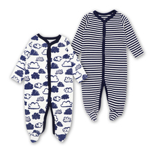 2018 New Baby Clothing Newborn Boy Girl Romper Clothes Long Sleeve Infant Product 2 PCS Babys sets
