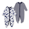 2018 New Baby Clothing Newborn Baby Boy Girl <font><b>Romper</b></font> Baby Clothes Long Sleeve Infant Product 2 PCS Baby's sets