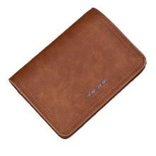 Uus Zipper rahakott retro matt nahast meeste rahakott Kvaliteetne PU tõeline Lühike lõik multi-kaardi lukk rahakott