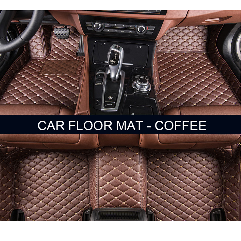 Custom paper floor mats cars