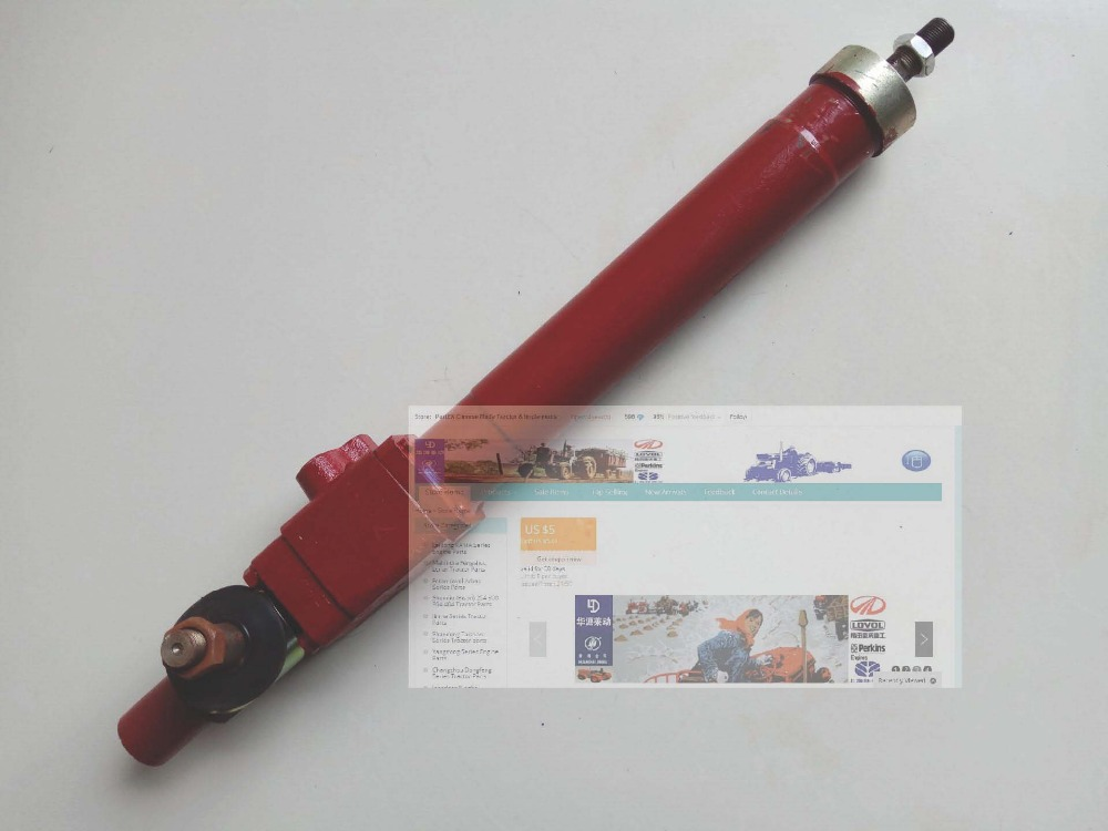 Shanghai SH504 tractor parts, the power steering cylinder, part number: угломер the shanghai shen 200mm