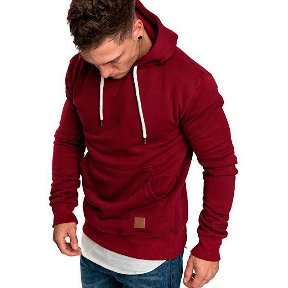 YJSFG HOUSE Fashion Men Hooded Autumn Winter Hoodie Coats Male Jackets Outwear Sweatshirts Fit Jumper Loose Pullover Solid Tops