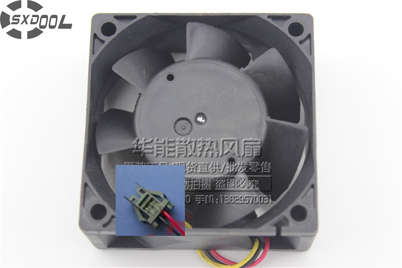 SXDOOL Free Shipping Wholesale For Yaskawa fan MMF-06D24ES ROK 6025 60mm 6cm DC24V 0.1A server inverter cooling fan free shipping 370 6072 03 540 6706 01 server fan for sun netra440 n440 tested working