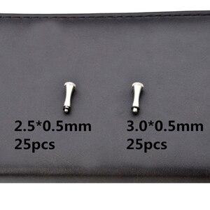 Image 5 - 1 ボックスのヘアはさみ部品はさみの修理キットアクセサリー含むバンパー/指休符/ネジキー/ステンレス鋼ワッシャー