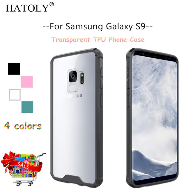 buy popular aa996 bffbc US $2.89 32% OFF HATOLY For Cover Samsung Galaxy S9 Case 5.8
