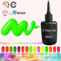 2017 Hot Fluorescent Colors Gel Nail Polish Long-Lasting Soak-off UV Nail Gel Polish 80ml/pcs 162 Colors Optional Free Shipping
