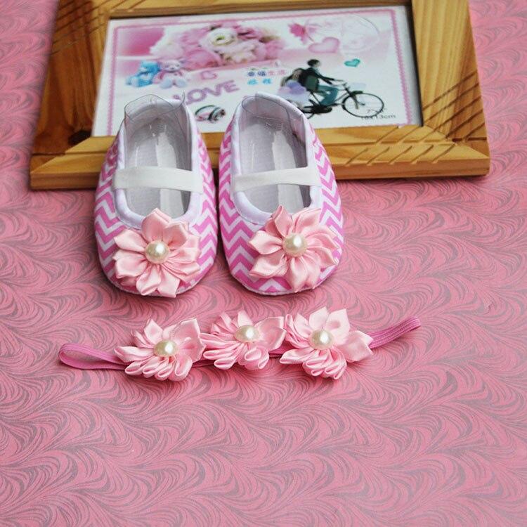 Toddler Headband,Infant Christening Baby Moccasins,Newborn Baby Girl Baptismal kids Rhinestone cute baptism Ballerina shoes
