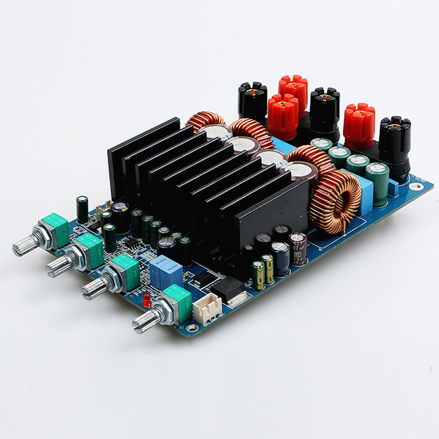 TAS5630 2 1 4ohm Class D Digital Amplifier Board 300W+150W+150W Free  Shipping