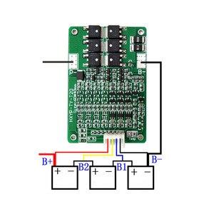 Image 5 - Placa de protección de batería de litio, Placa de protección BMS 3S 4S 6S 7S 20A 12,6 V, placa de protección de batería de litio 16,8 V 21V balanceada 25,2 V 29.4V18650